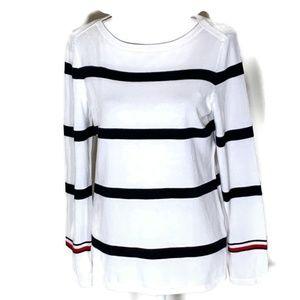 Tommy Hilfiger women's sweater size medium striped